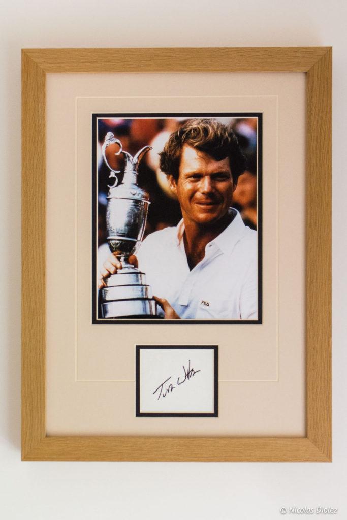 cadre champion Tom Watson hôtel du Golf à Vaudreuil Eure