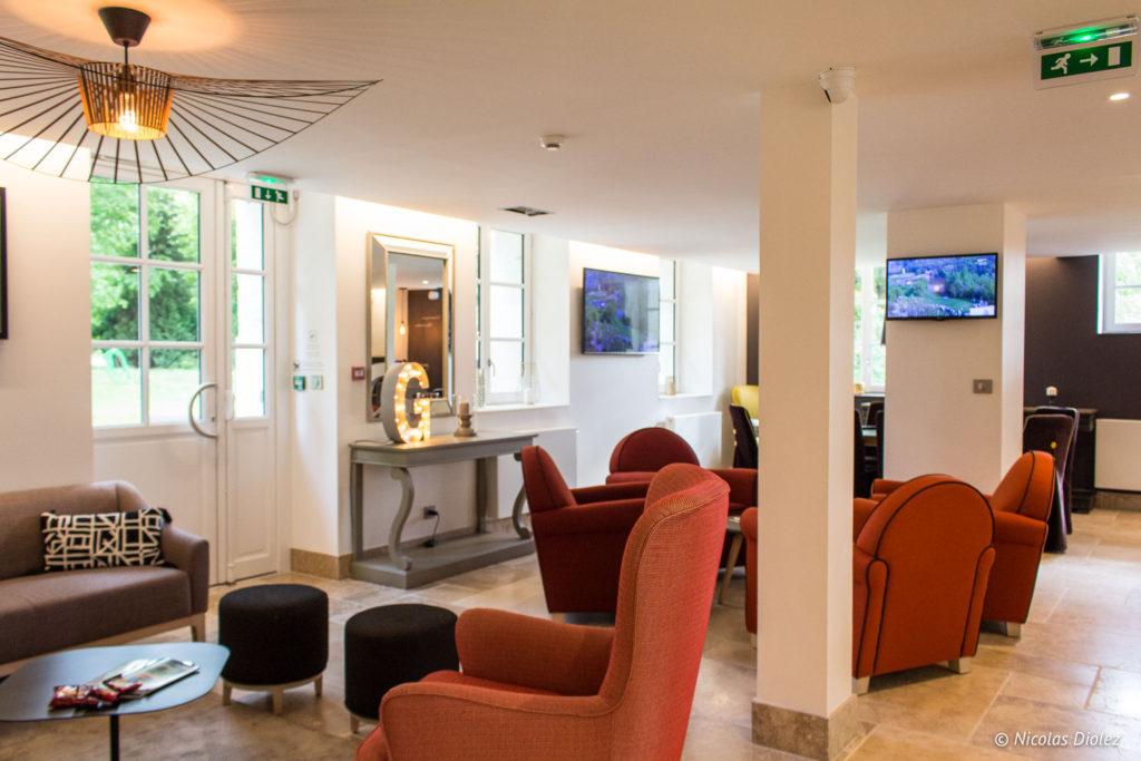 salon hôtel du Golf à Vaudreuil Eure