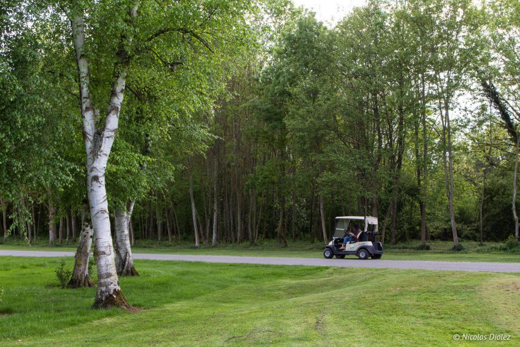 voiturette golf hôtel du Golf à Vaudreuil Eure