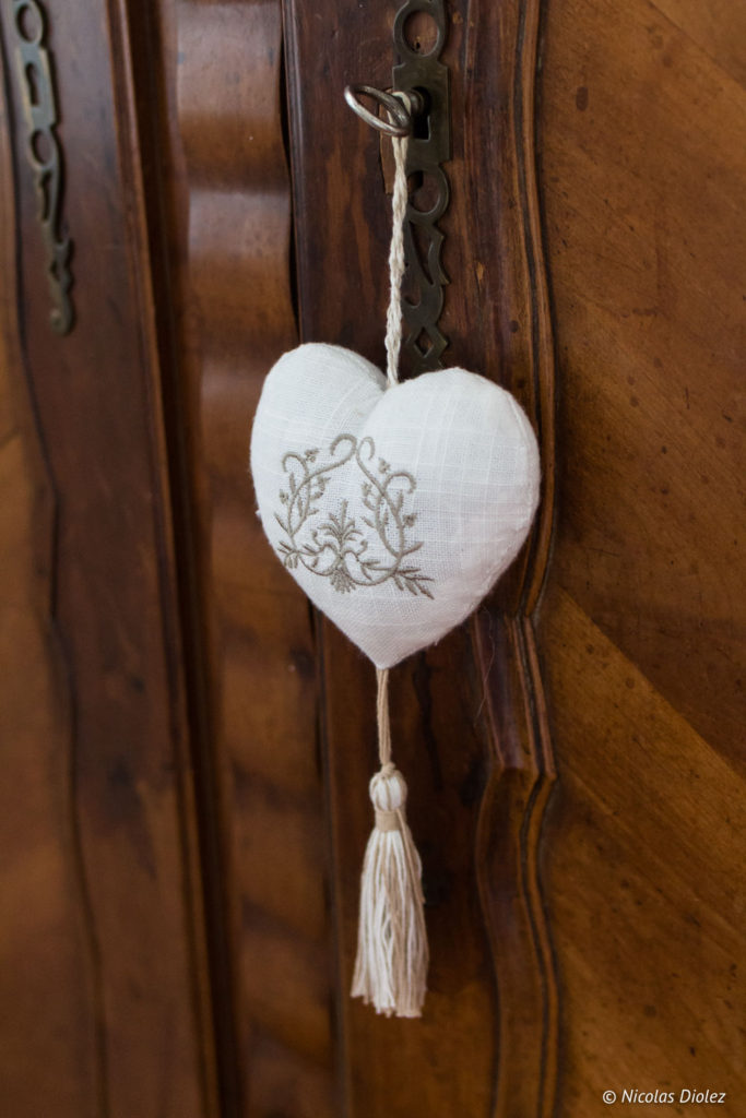 coeur Chambre d'hôtes la Canotière aux Andelys Eure