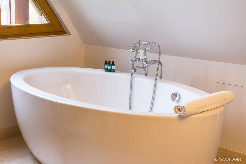 baignoire Manoir de Surville Eure