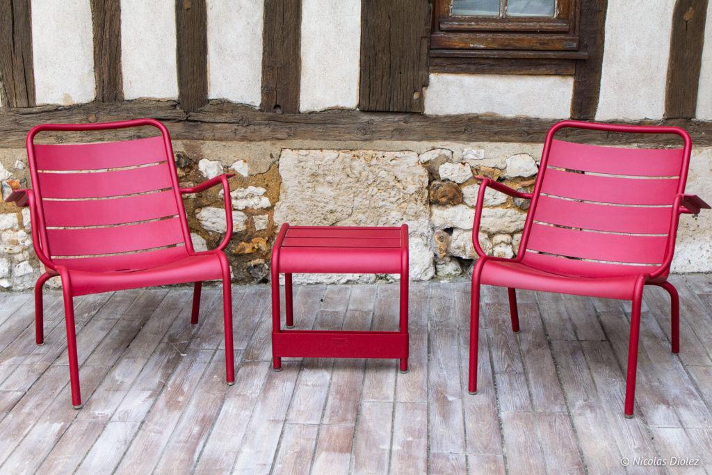 chaises Manoir de Surville Eure