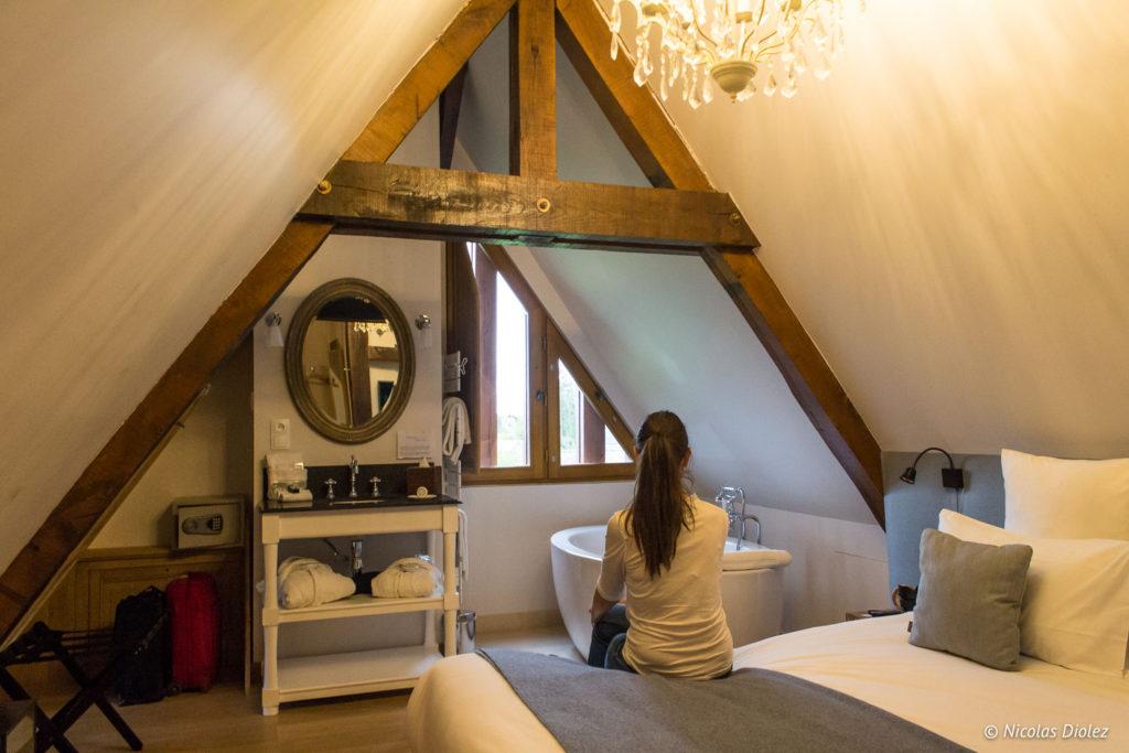 chambre Manoir de Surville Eure