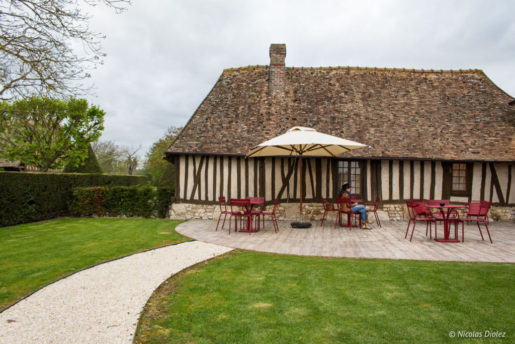 terrasse Manoir de Surville Eure