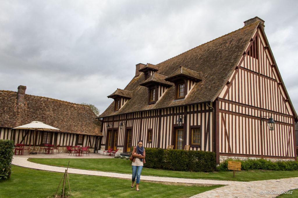 extérieur Manoir de Surville Eure