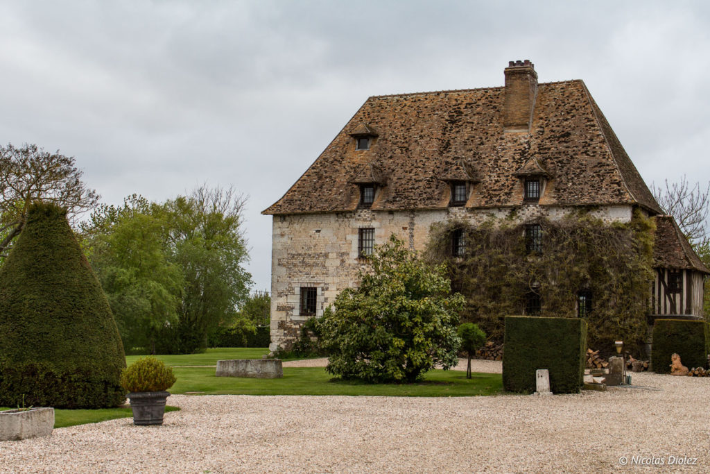 ancienne battisse Manoir de Surville Eure