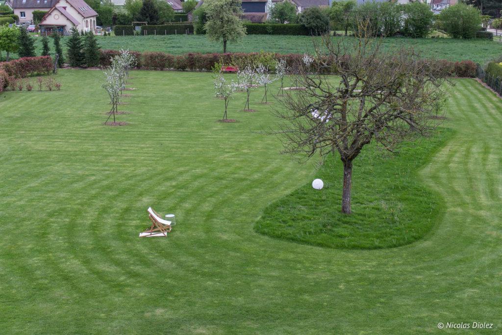 jardin Manoir de Surville Eure