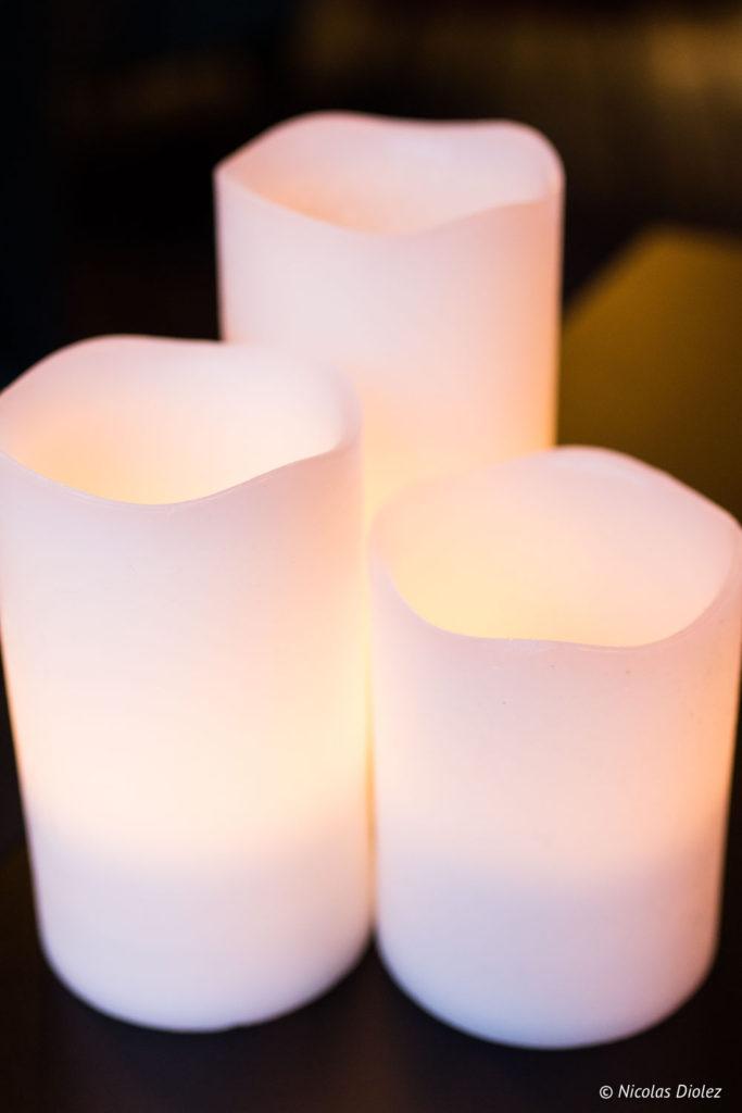 bougies restaurant Cascade Insolite Eure