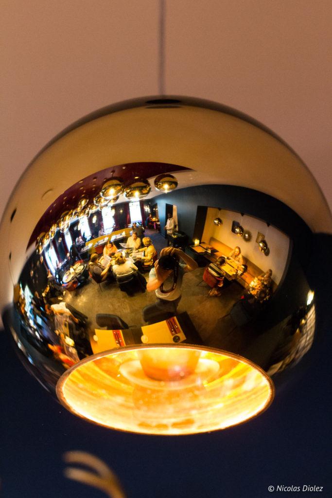 luminaire restaurant Cascade Insolite Eure