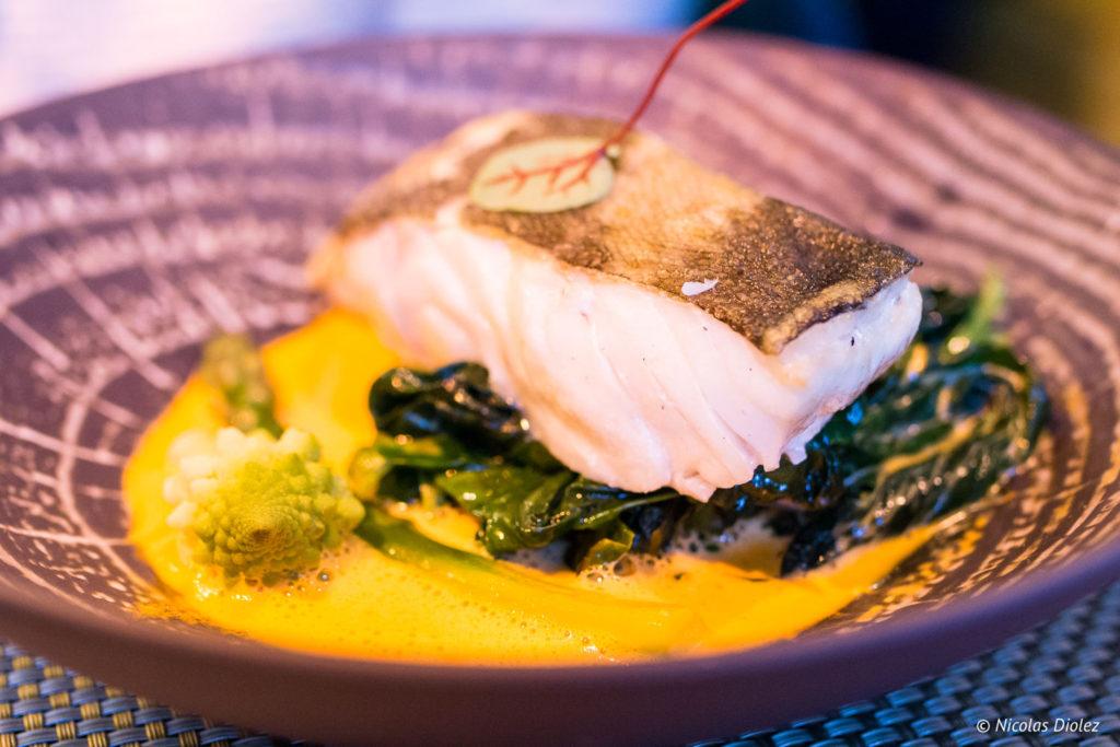 poisson restaurant Cascade Insolite Eure