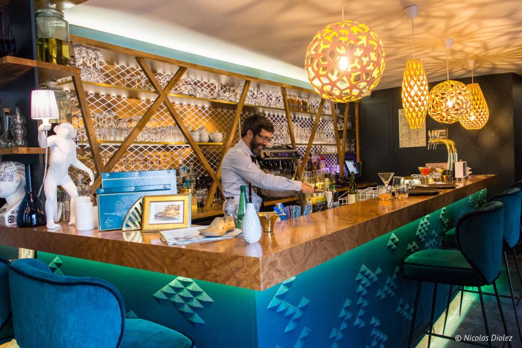 bar restaurant Cascade Insolite Eure