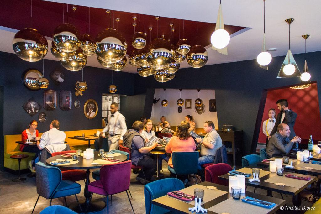 salle restaurant Cascade Insolite Eure