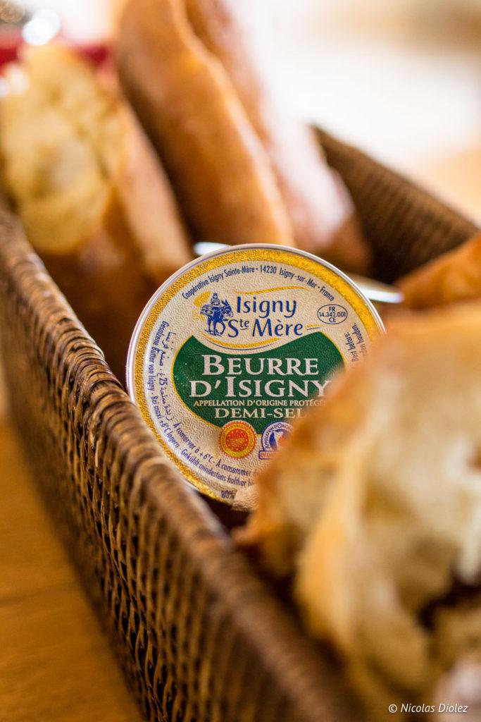 petit déjeuner Manoir de Surville Eure