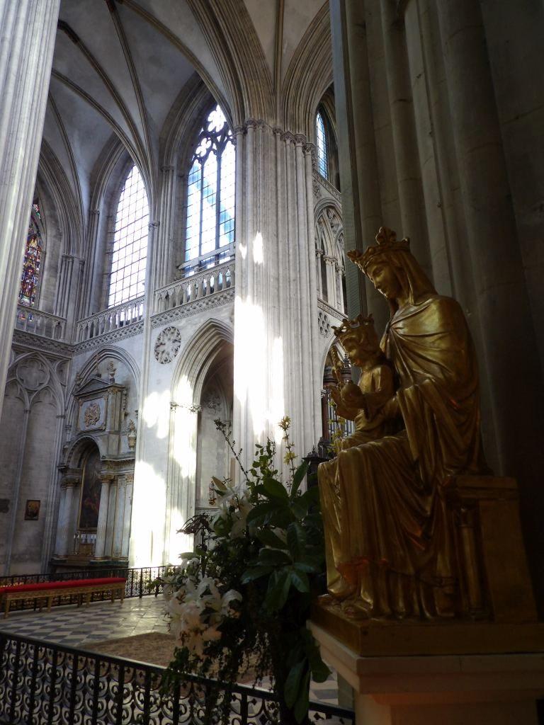 intérieur Cathédrale de Bayeux Calvados