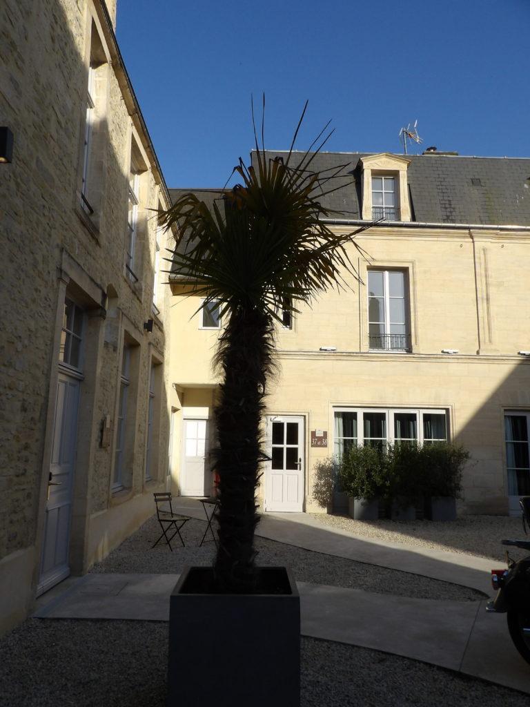 extérieur Hotel Reine Mathilde Bayeux Calvados