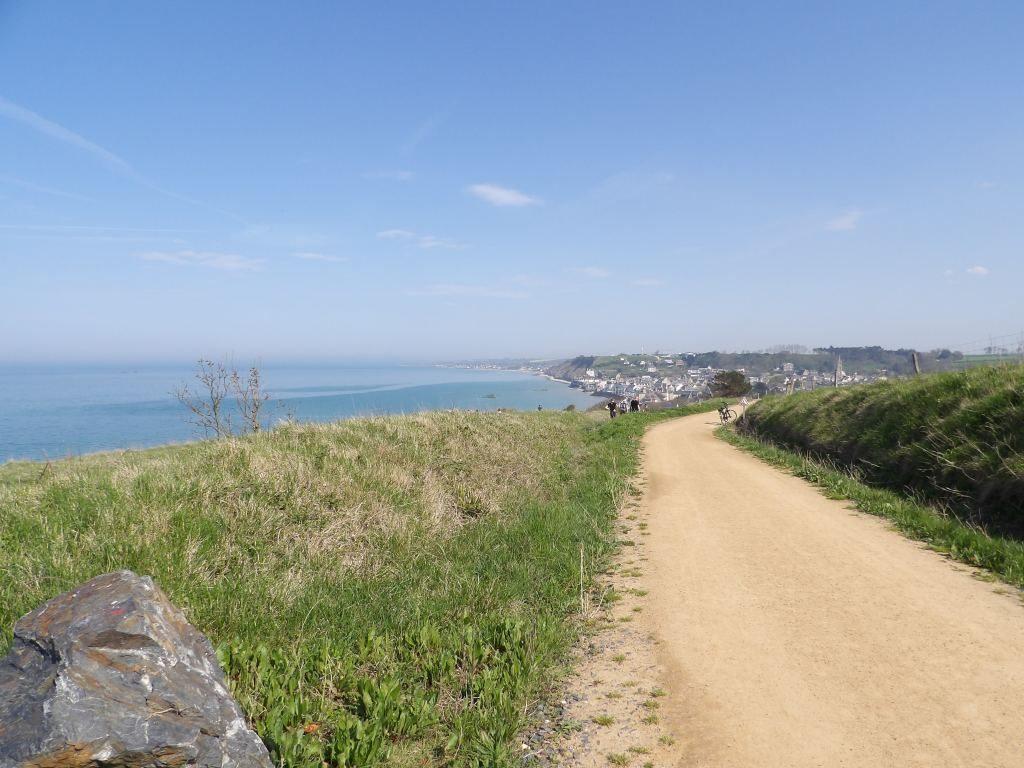 chemin Arromanches Calvados