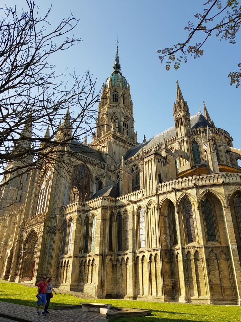 extérieur Cathédrale de Bayeux Calvados