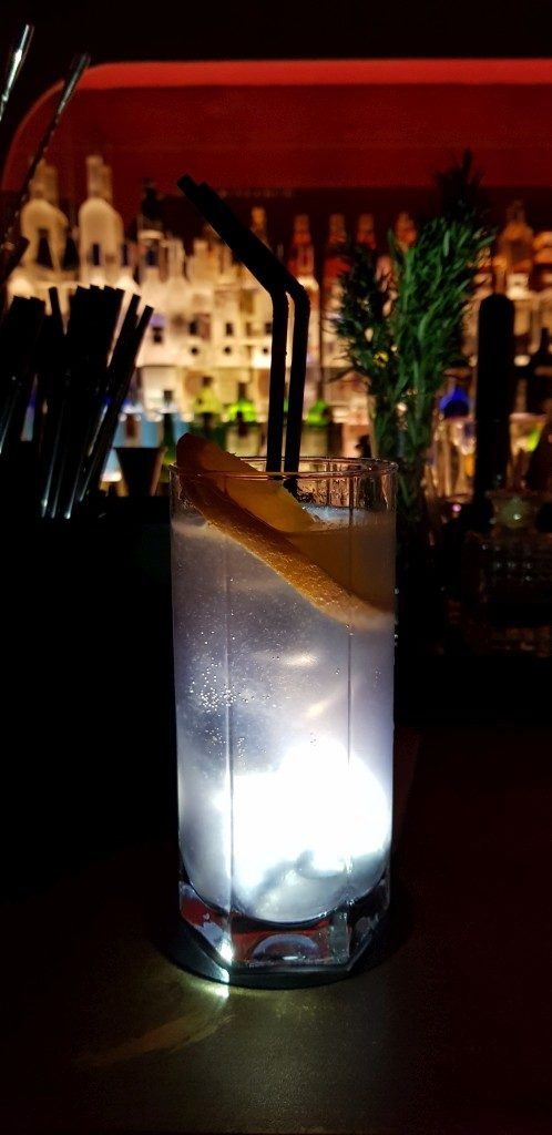 cocktail bar Hemingway Hôtel Suecia Madrid
