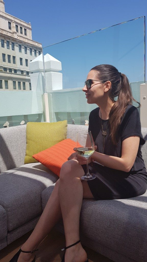 Melle Bon Plan Rooftop Hotel NH Collection Madrid Gran Via
