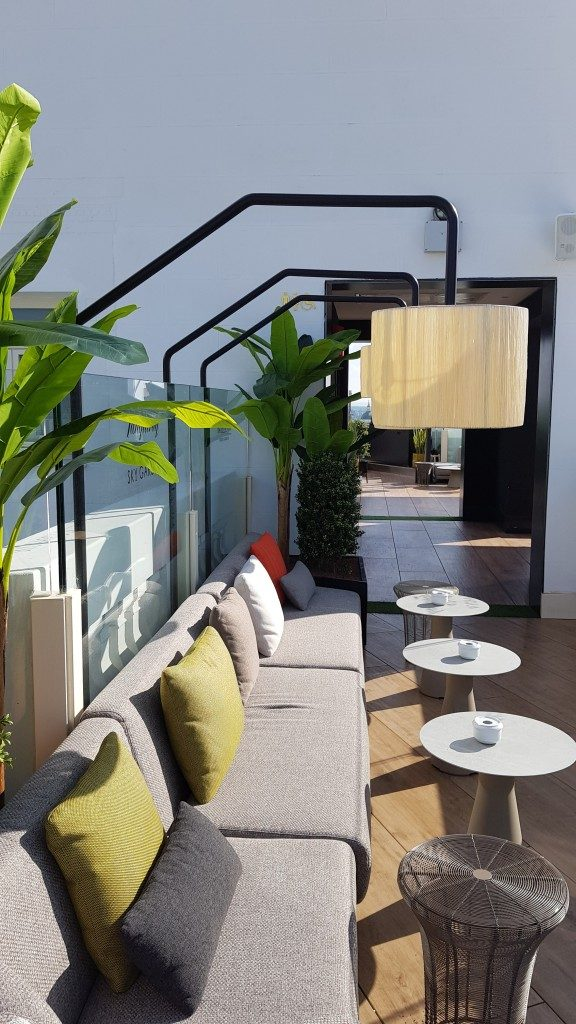 Rooftop Hotel NH Collection Madrid Gran Via