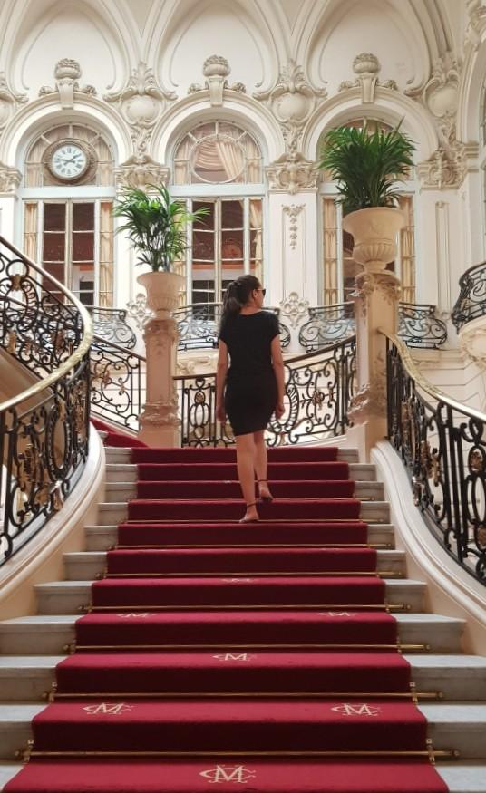 escalier Terraza del Casino Madrid