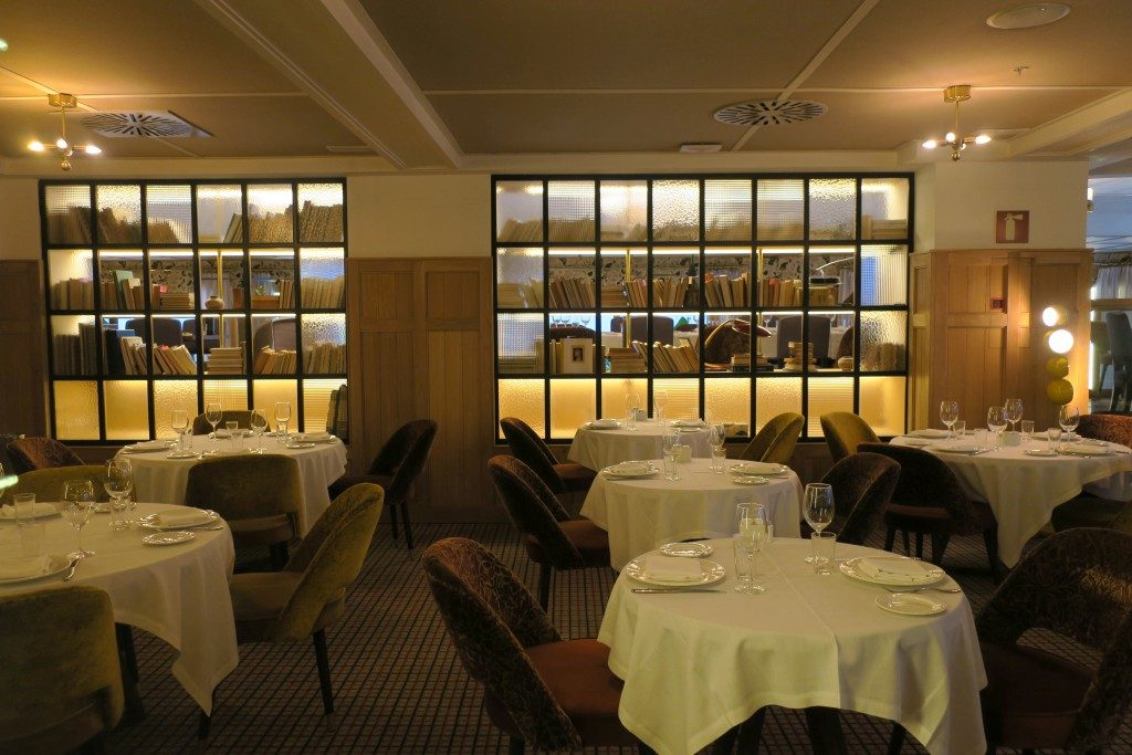 salle restaurant Hôtel Suecia Madrid