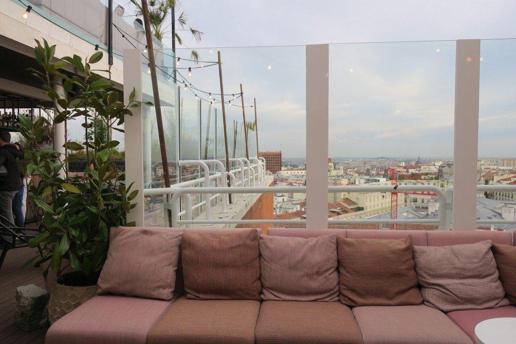 rooftop Hôtel Suecia Madrid