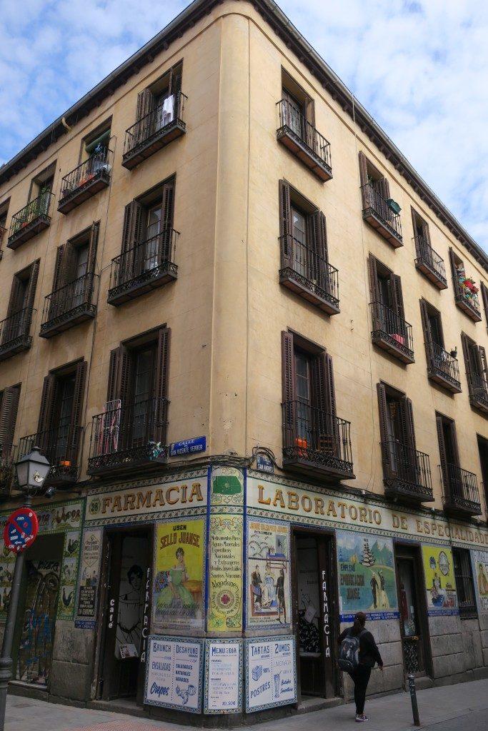 facade immeuble Madrid