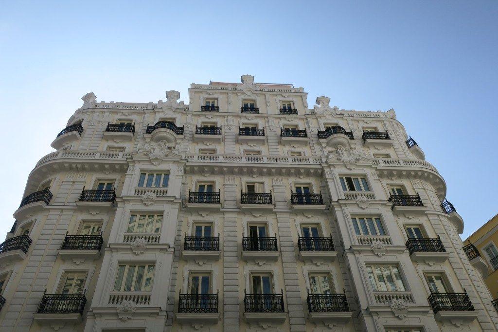 facade Hotel NH Collection Madrid Gran Via