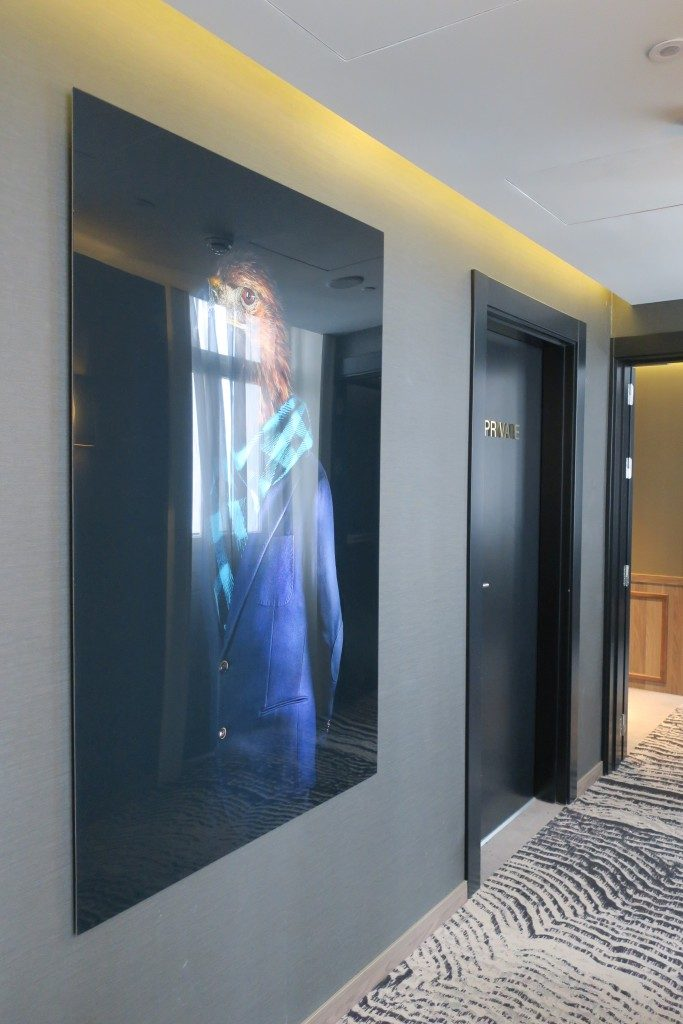 couloir Hotel NH Collection Madrid Gran Via