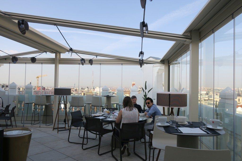 petit déjeuner Hotel NH Collection Madrid Gran Via