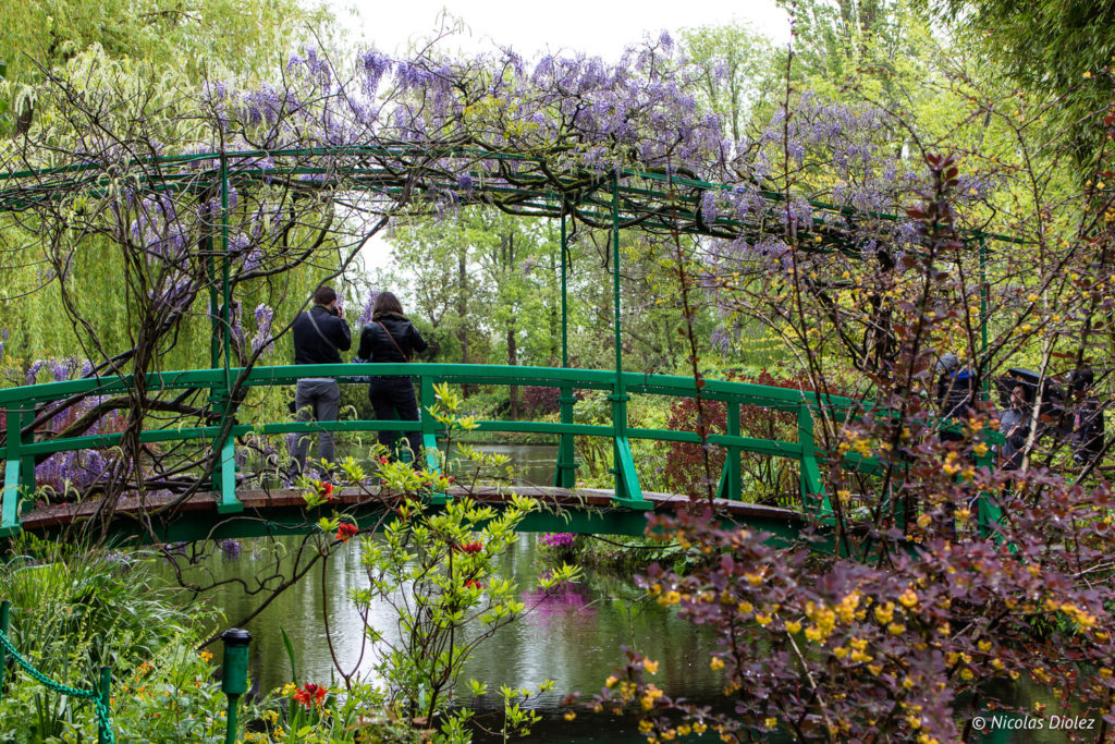 pont jardin Fondation Monet Giverny Eure Normandie