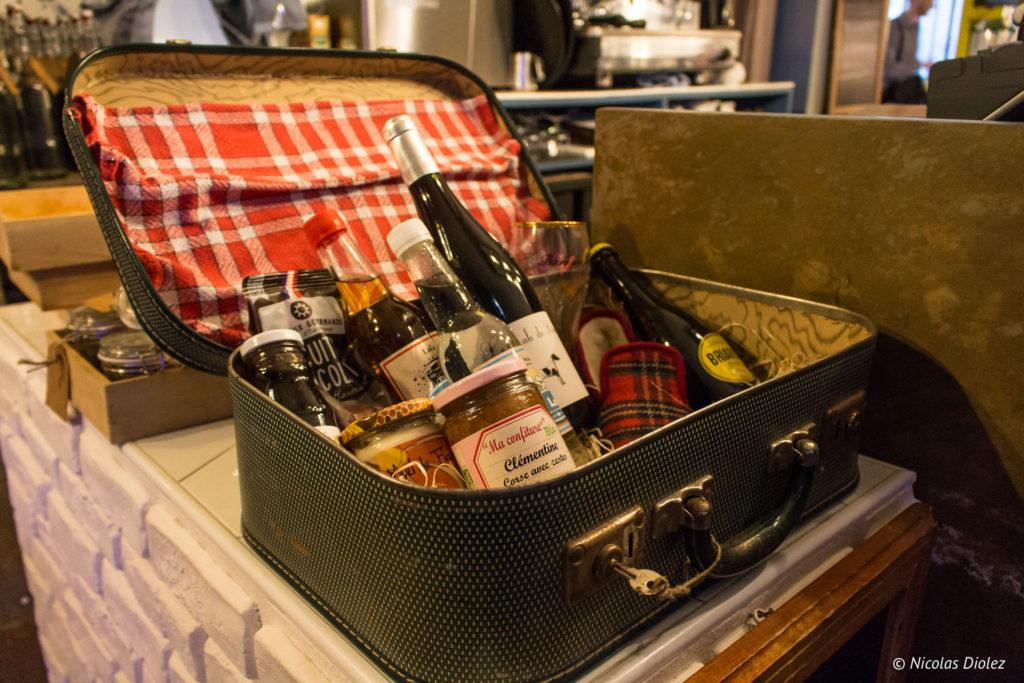 valise produits Papy aux fourneaux Paris