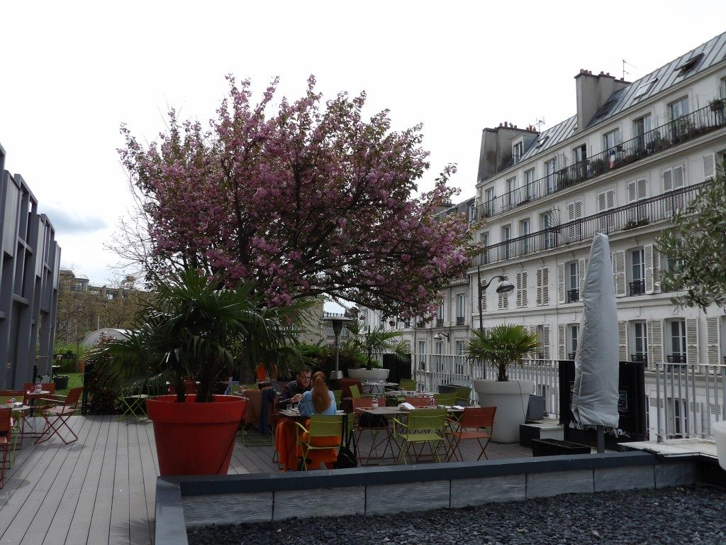 terrasse Mercure Montmartre Paris