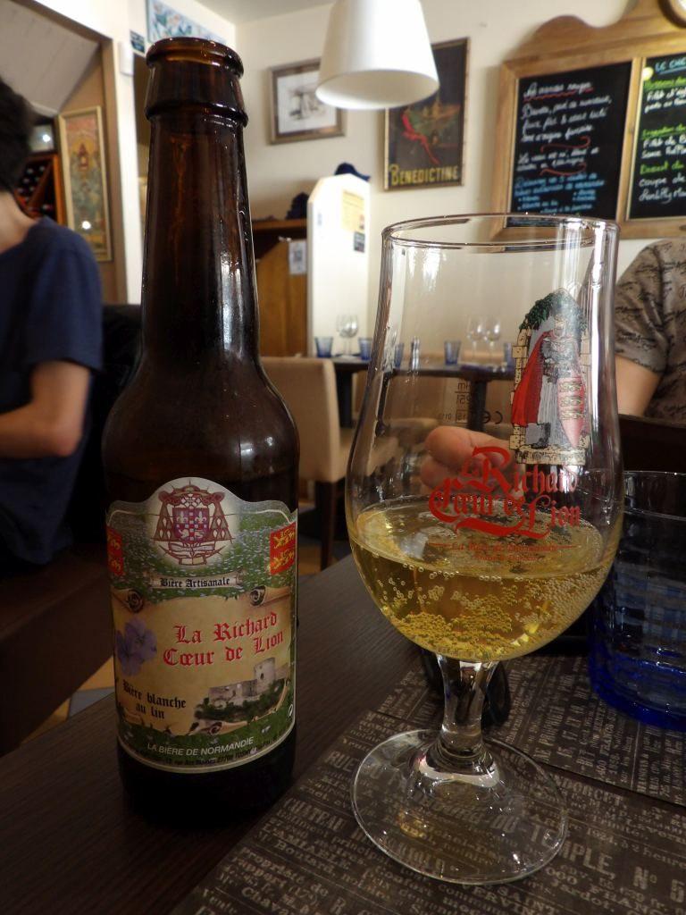 bière normande restaurant Bistretatais Etretat
