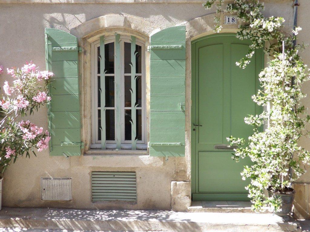 volets verts maison Arles
