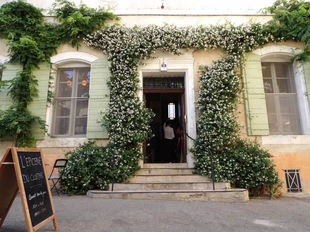 entrée Hôtel du Cloître Arles