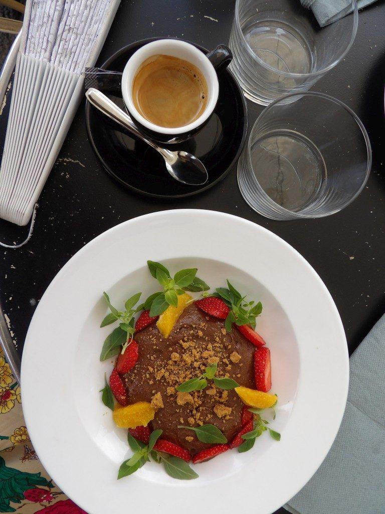 dessert Restaurant Le Lion d'Arles