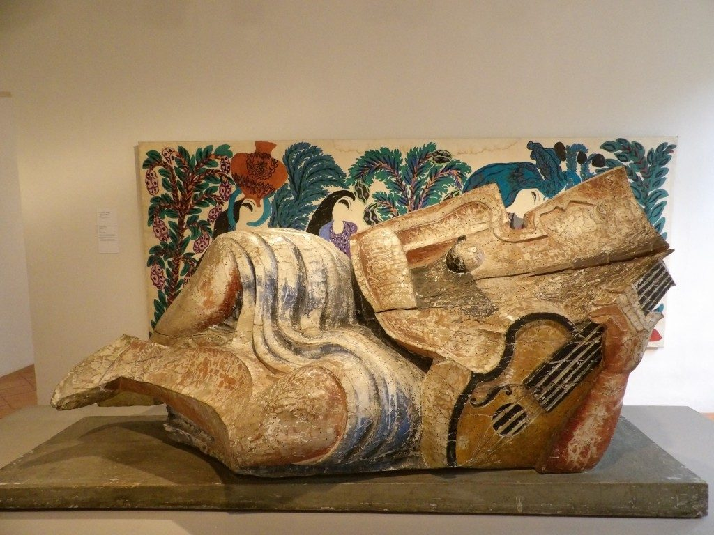 sculpture musée Réattu Arles