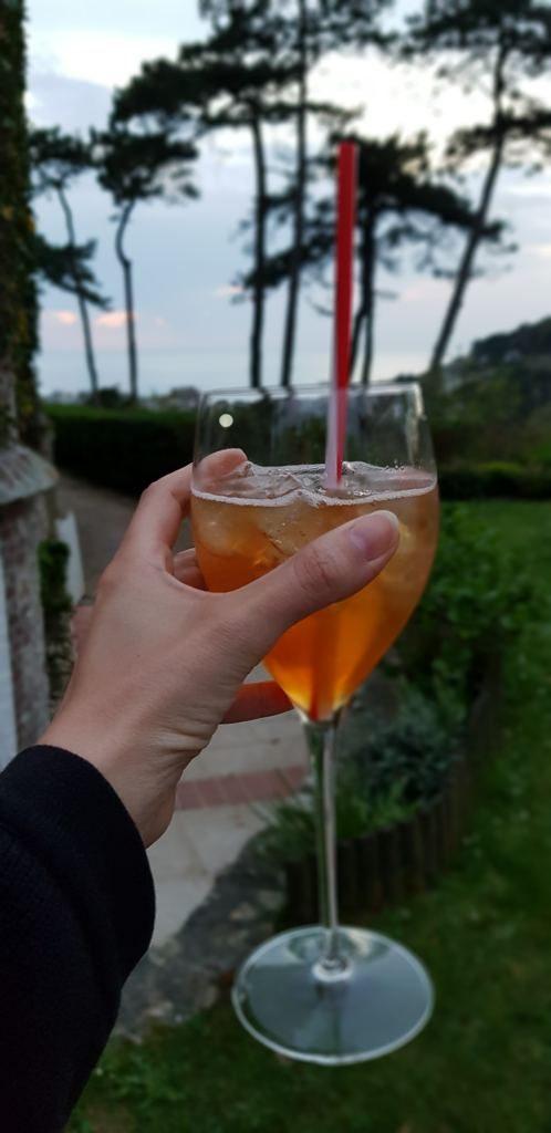 cocktail Hôtel Le Donjon Etretat