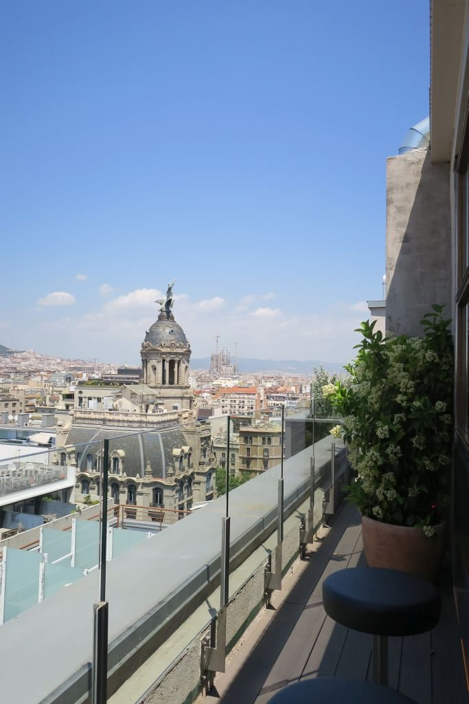 rooftop NH Collection Gran Hôtel Calderon Barcelone