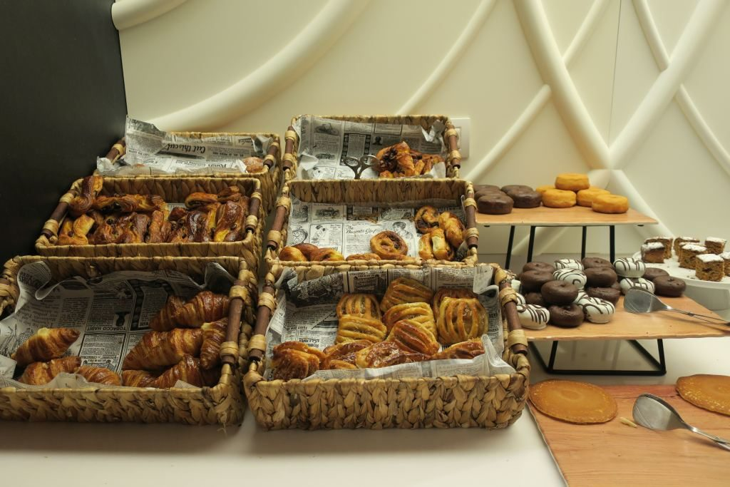 petit déjeuner NH Collection Gran Hôtel Calderon Barcelone