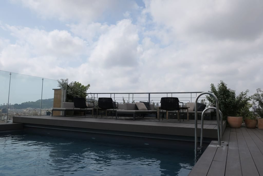 piscine NH Collection Gran Hôtel Calderon Barcelone