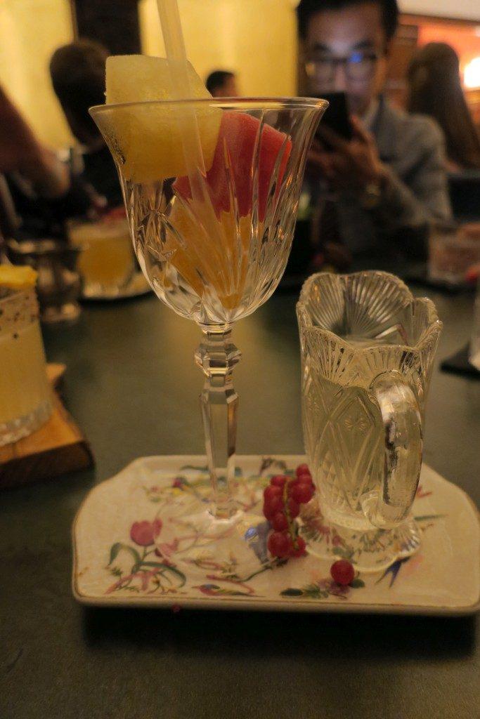 Bar cocktails Rilke Barcelone