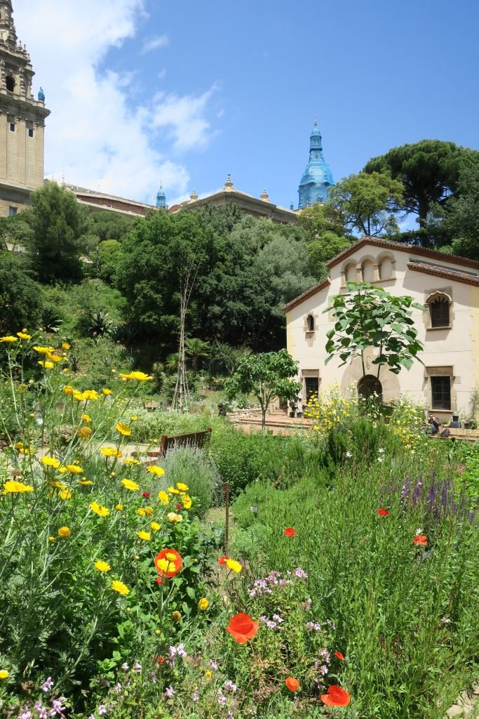 Jardin botanique Montjuïc Barcelone