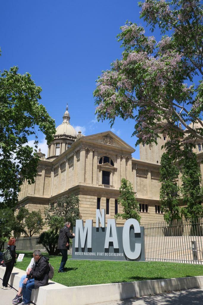 MNAC Montjuïc Barcelone