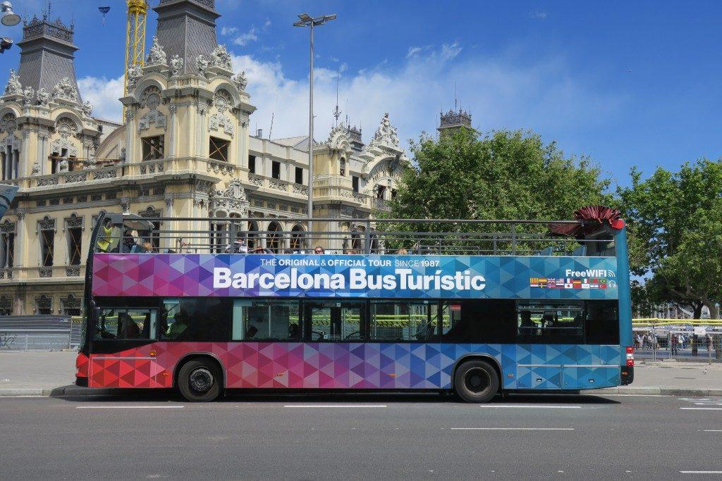 Bus Turistic Barcelone