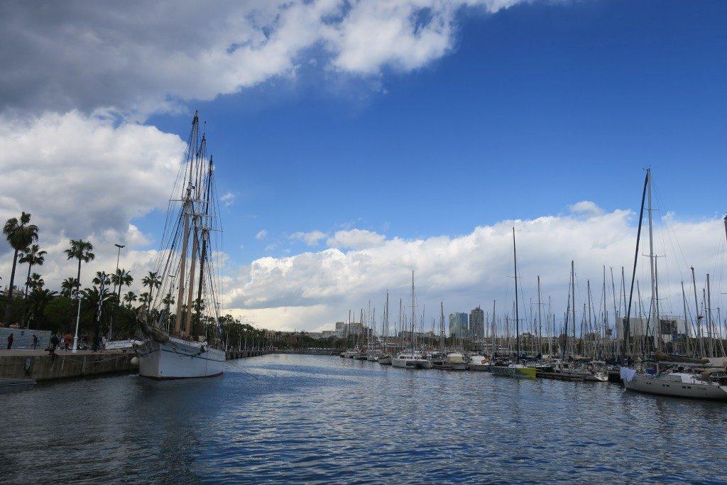bateaux Port Barcelone