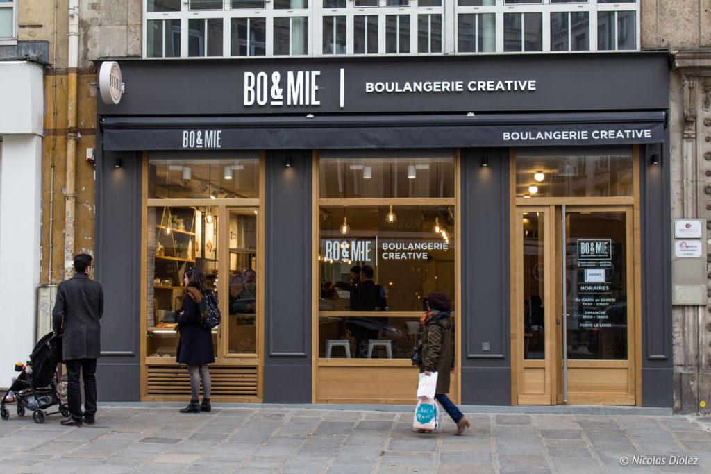 facade Bo & Mie Paris