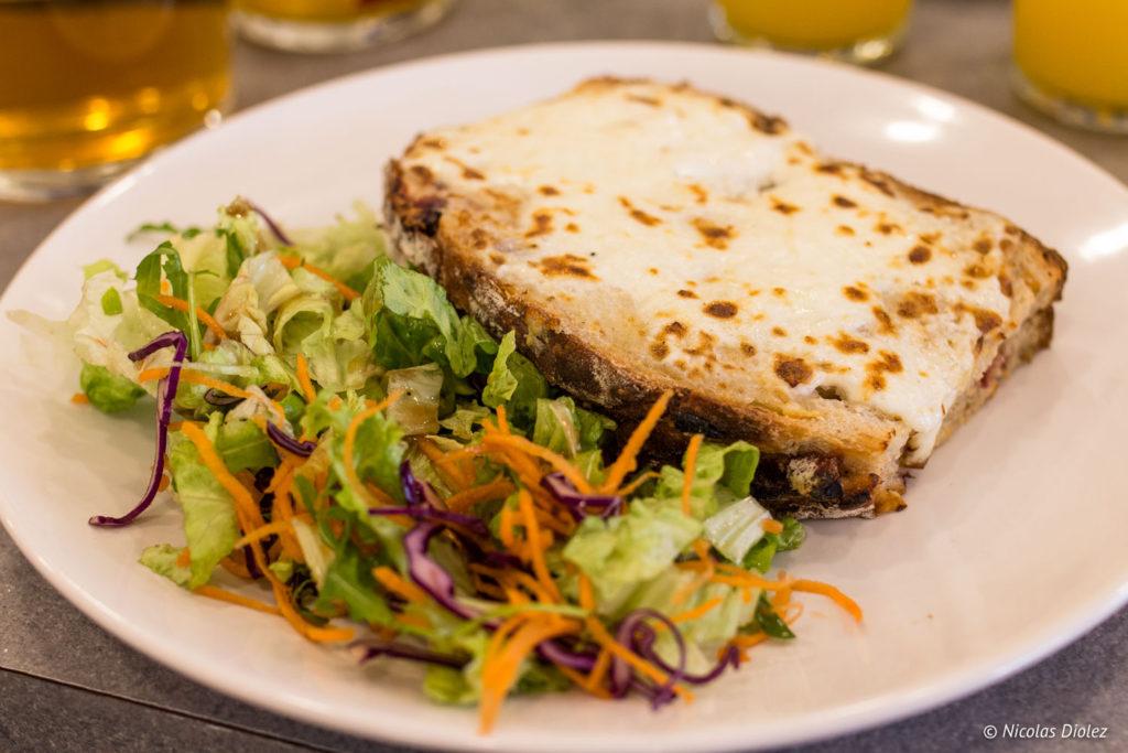 assiette salée Brunch Bo & Mie Paris